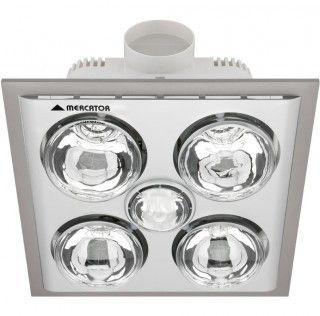 Bathroom Heater Exhaust Fan Light Ixl And Extractor