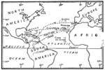 Christopher Columbus Maps: Voyages of Columbus