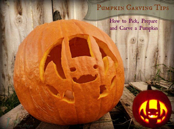 Pumpkin carving tips how to carve a pumpkins