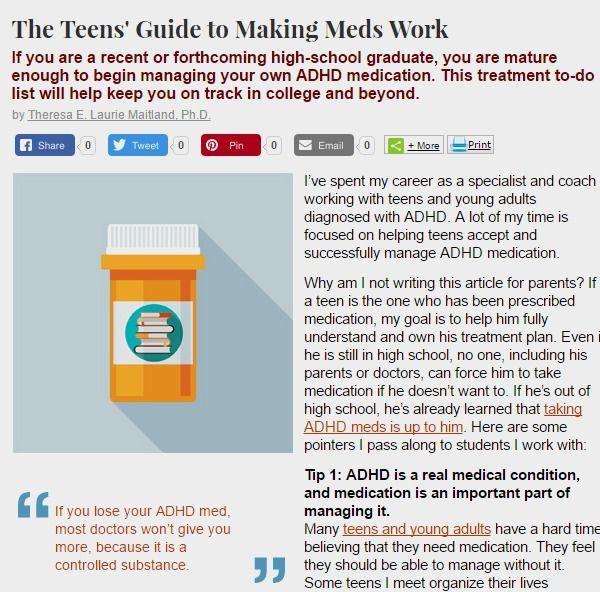 add adhd medication drugs adults