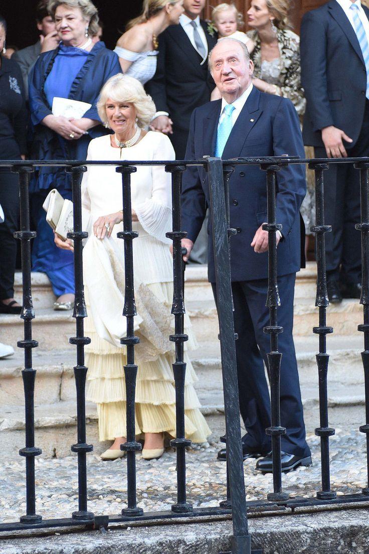 Rey Juan Carlos I y Camila, duquesa de Cornualles