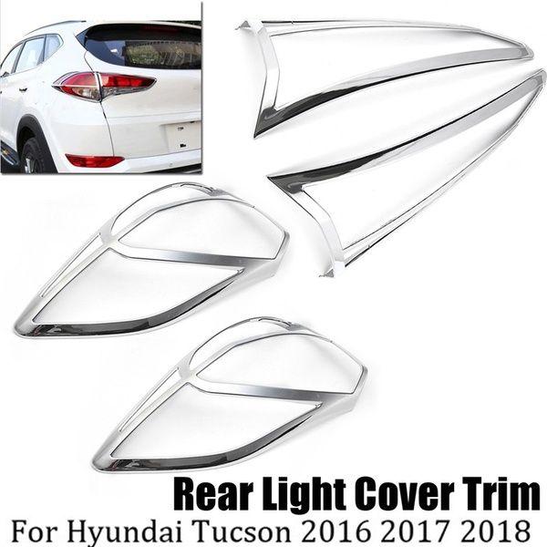 Rear Tail Fog Light Cover Trim Lamp Cover For Hyundai Tucson 2016 2017 2018 Wish Lamp Cover Light Covers Hyundai Tucson 2016