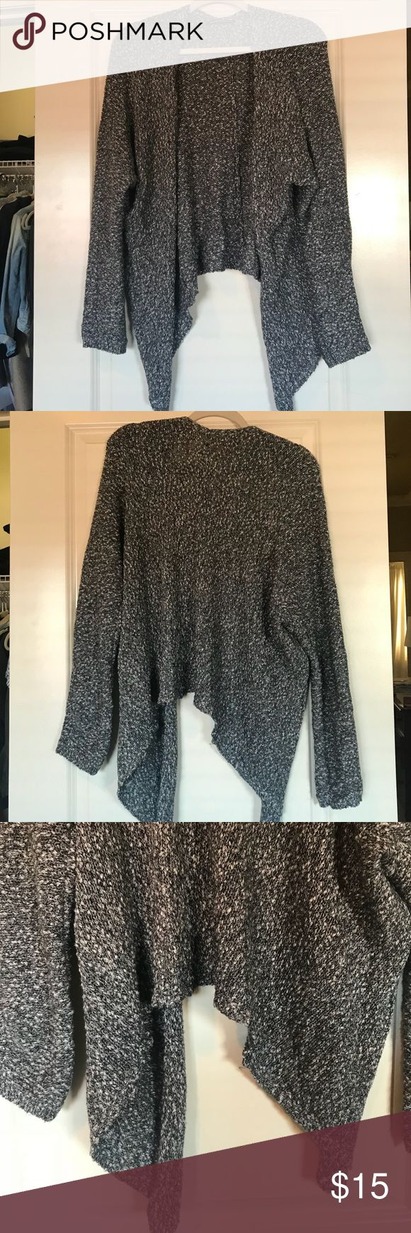 Brandy Melville Cardigan Super cute and cozy BM cardigan in dark gray color. Perfect for fall/winter but light enough to wear in the spring or summer to layer. Only worn a handful of times and in great condition! One Size Fits All Brandy Melville Sweaters Cardigans