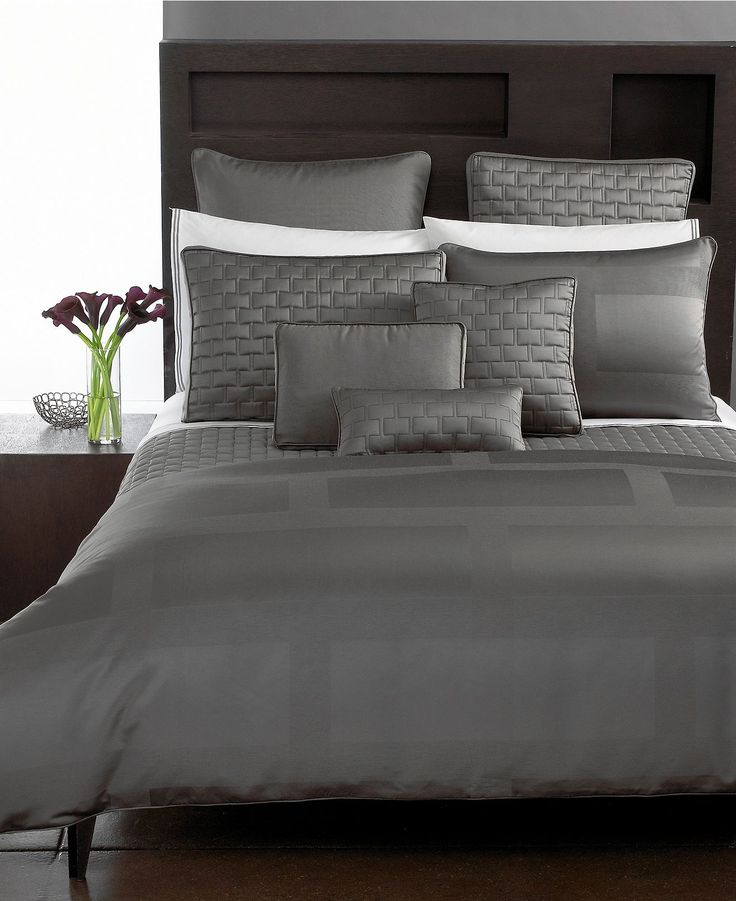 "Hotel Collection ""Frame"" Duvet Cover, King - Duvet Covers - Bed & Bath - Macy's Bridal and Wedding Registry #macysdreamfund"
