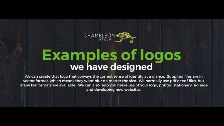 Professional #logodesign for use in Print, Signage or on the Web  http://chameleonprint.com.au/logo-design/