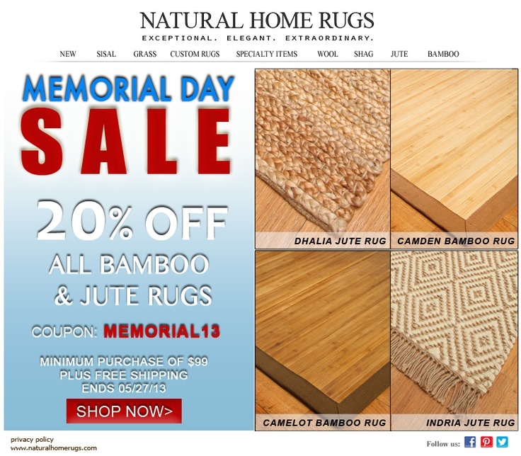 memorial day sale coupon