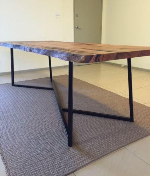Beautiful Custom Table Frame From Modcraft Australia Plan - Awesome Hairpin Furniture Legs Simple Elegant