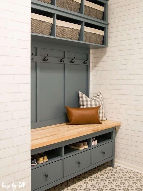 Diy Mudroom Bench, Entryway Storage Furniture Ideas