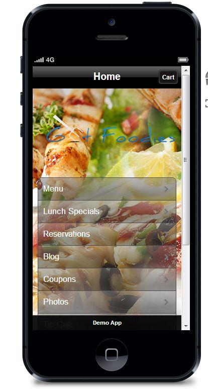 Advantages of Custom restaurant app.