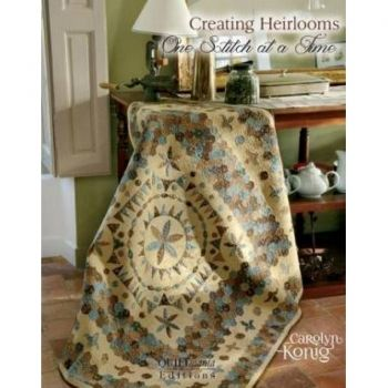 Creating Heirlooms one stitch at a time – book by Carolyn Konig