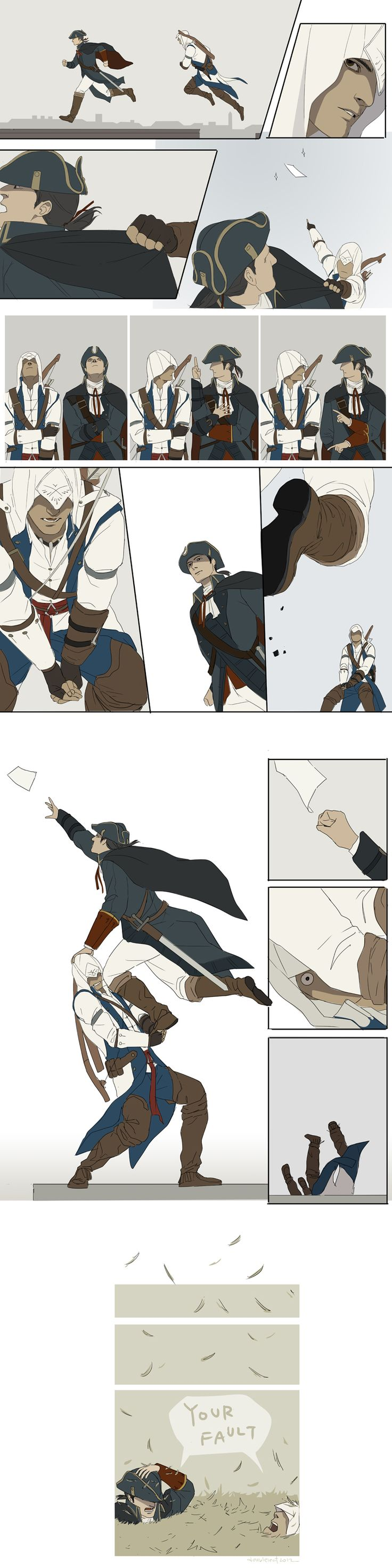 AC3 - Whose Fault by doubleleaf.deviantart.com | Fucking pages make me want to kick babies.