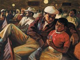 The audience - George Pemba