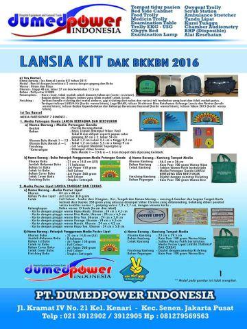 Lansia Kit BKKBN 2016 ~ Posyandu Lansia