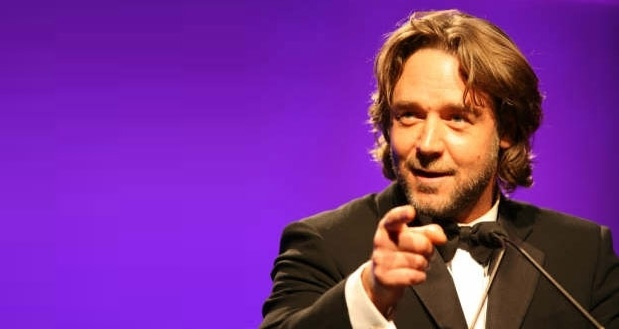 Russell Crowe at 2007 LA Black Tie Gala: Black Ties, Russell Crows, G Day Usa, 10 Years, La Black, Ties Gala, 2007 La