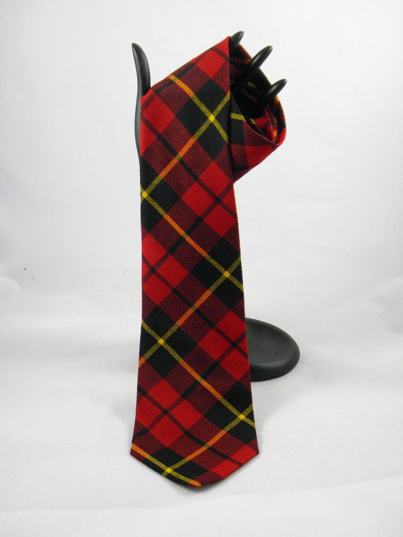 Scottish Tie  Clan Wallace  Made in Great by BlackBirdVintiques, $15.00
