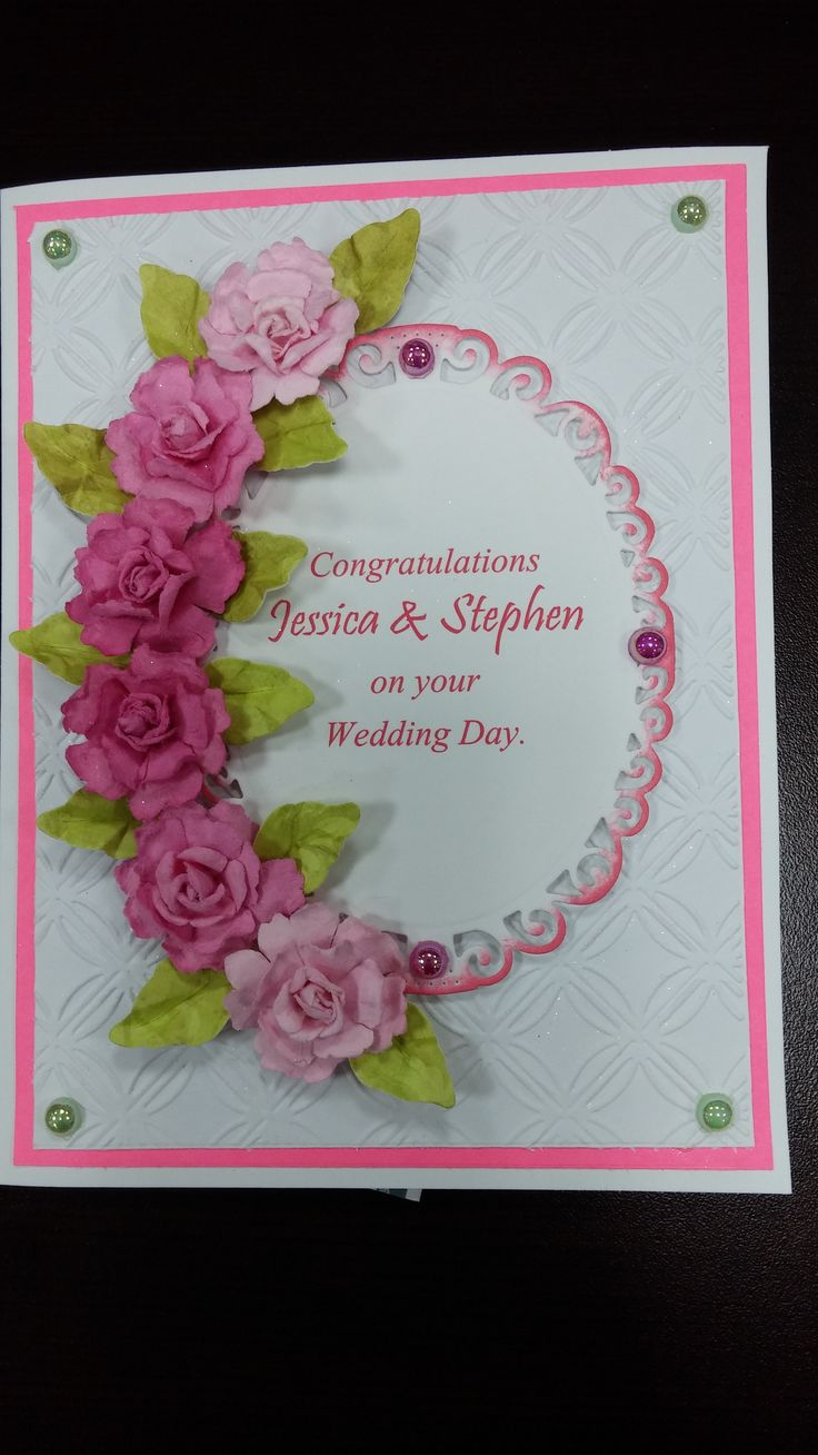 Made using Spellbinder dies and Recollections flowers.