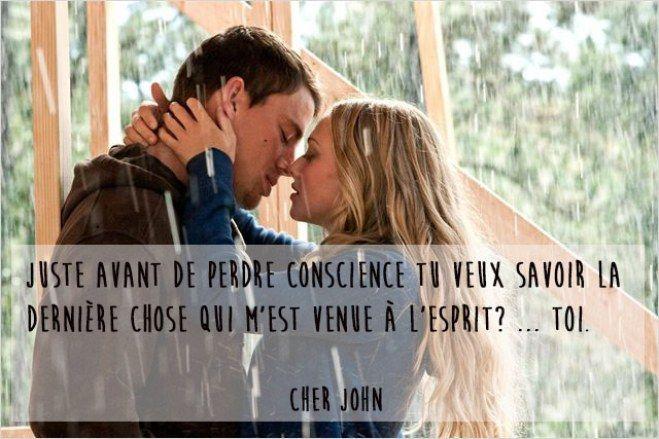 Citation film d'amour, Cher John