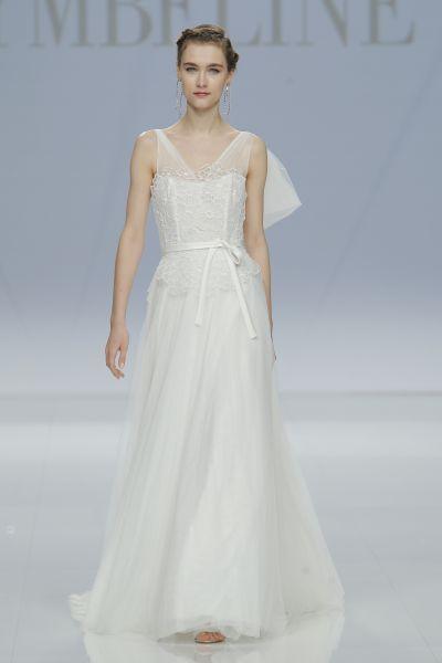 Vestidos de novia con cintas y lazos 2017: 30 diseños llenos de romanticismo Image: 12