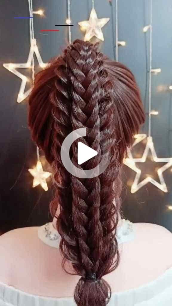 Hairstyle Tutorials For Long Hair New Hairstyle Videos Beautiful Wedding Hairstyles Stylish In 2020 Hair Styles Hair Videos Wedding Hairstyles
