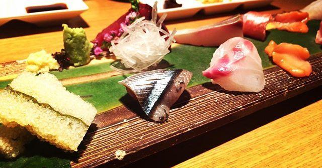 お刺身の盛り合わせ♡(๑˃̵ᴗ˂̵) 子持ち昆布だいすき🤗 #夜ご飯 #和食 #京料理 #刺身 #魚 #肉 #松茸の土瓶蒸し #イベリコ豚 あ#日本酒 #fish
