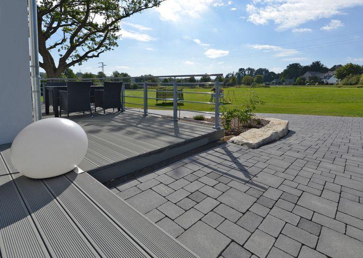 Das Ökopflaster Germania antik®-Aqua bietet eine natürliche Entwässerungsfunktion und ermöglicht somit eine ökologisch sinnvolle Flächengestaltung für Ihren Garten.