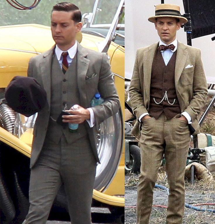Lovely 35+ Incredible Men's Fashion Style Like Great Gatsby Men's https://www.tukuoke.com/35-incredible-mens-fashion-style-like-great-gatsby-mens-12739