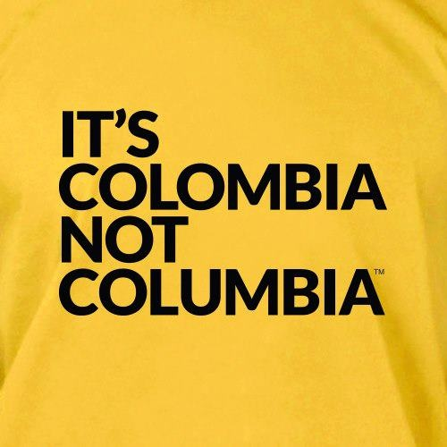 It's ColOmbia, not ColUmbia, Just in case nobody had notice! My country!