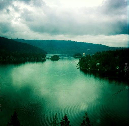 Headed here for a kayak adventure with mom - Deep Cove, BC