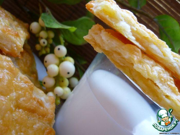 Очень вкусные слойки-пирожки из картофельносырного теста!