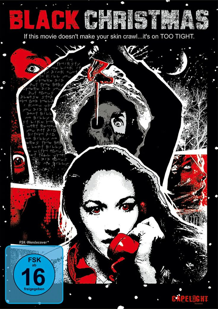 Black Christmas Horror Movie Poster Slasher