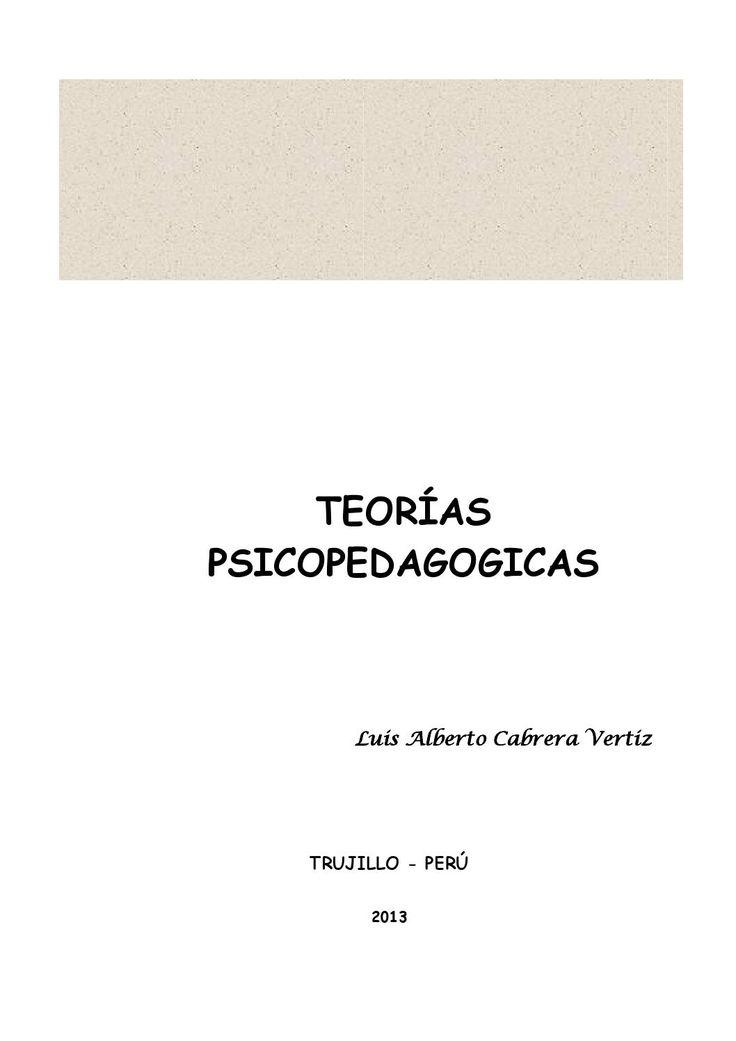 Modulo teorias psicopedagogicas
