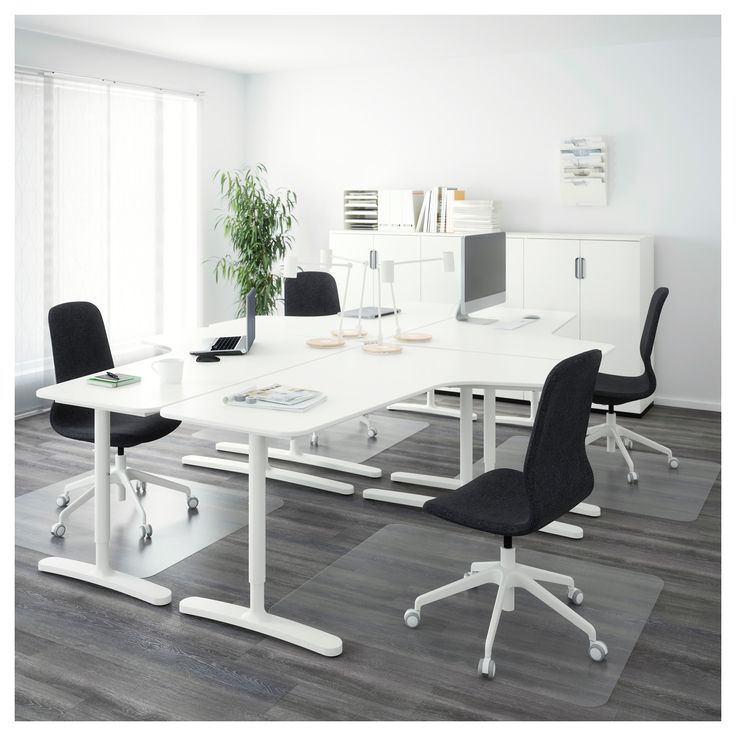 IKEA - BEKANT Desk combination white