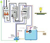 Esquemas eléctricos: conexion bomba centrifuga