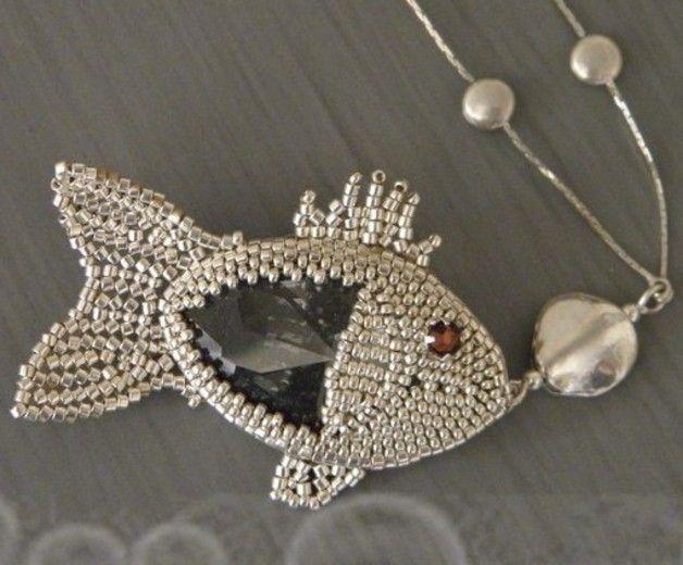 *P E-books & Tutoriels, Schéma Doris le petit poisson est une création orginale de Alexargai sur DaWanda