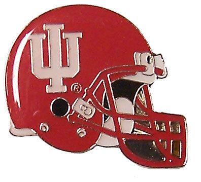 Indiana Football Helmet Pin