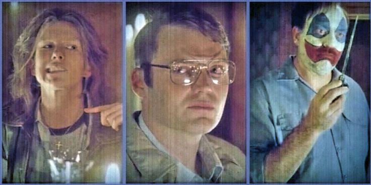 Lily Rabe (Aileen Wuornos), Seth Gabel (Jeffrey Dahmer), & John Carroll Lynch (John Gacey)