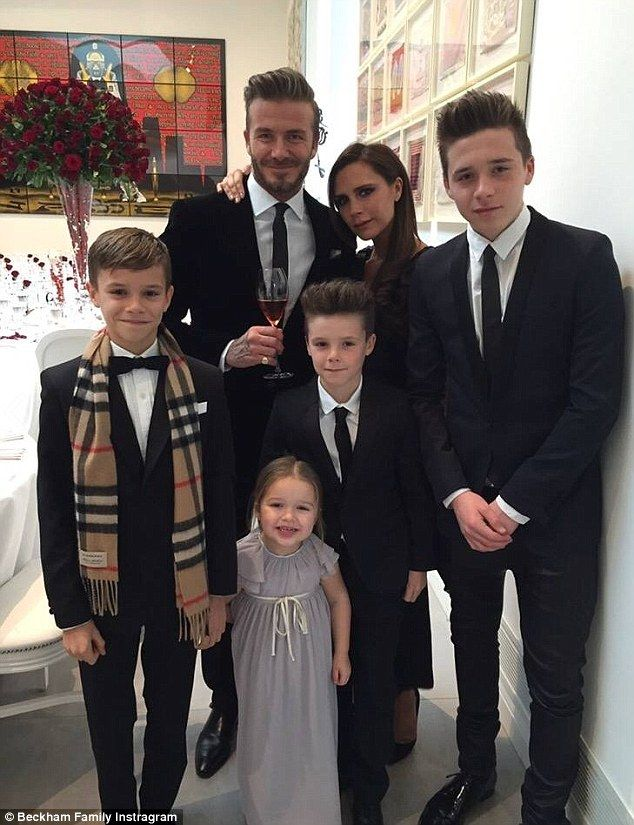 'I'm so proud of our beautiful family': Victoria Beckham posted a loving tribute…