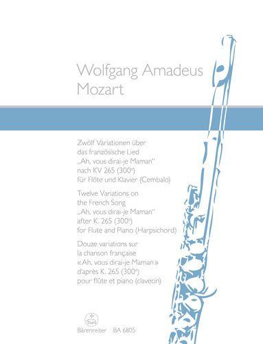 "Mozart, Wolfgang Amadeus - Variationen über ""Ah, vous dirai-je Maman"""