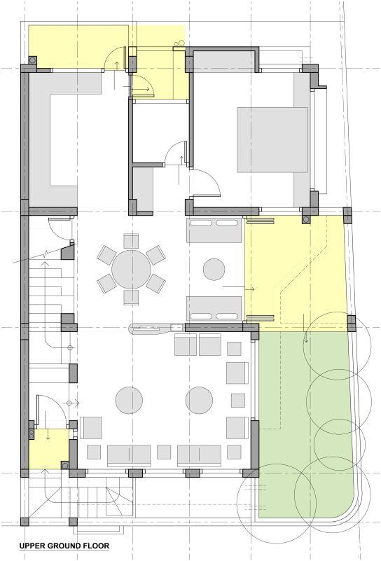 arham residence at surat gujarat house plans floor