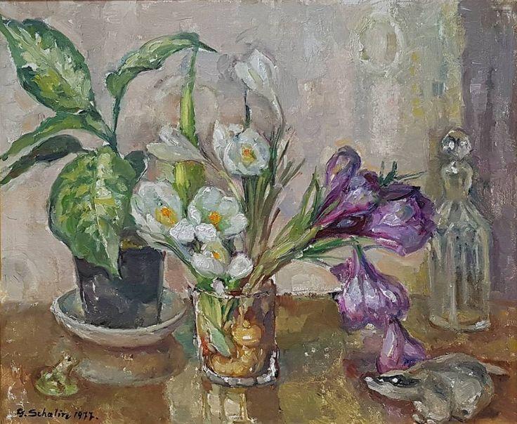 Toukokuussa Itäisenkadun Ikkunagalleriassa vanhojen tunnettujen taiteilijoiden maalauksia. Mm. Schalin, Mikola, Kosonen... #Turku