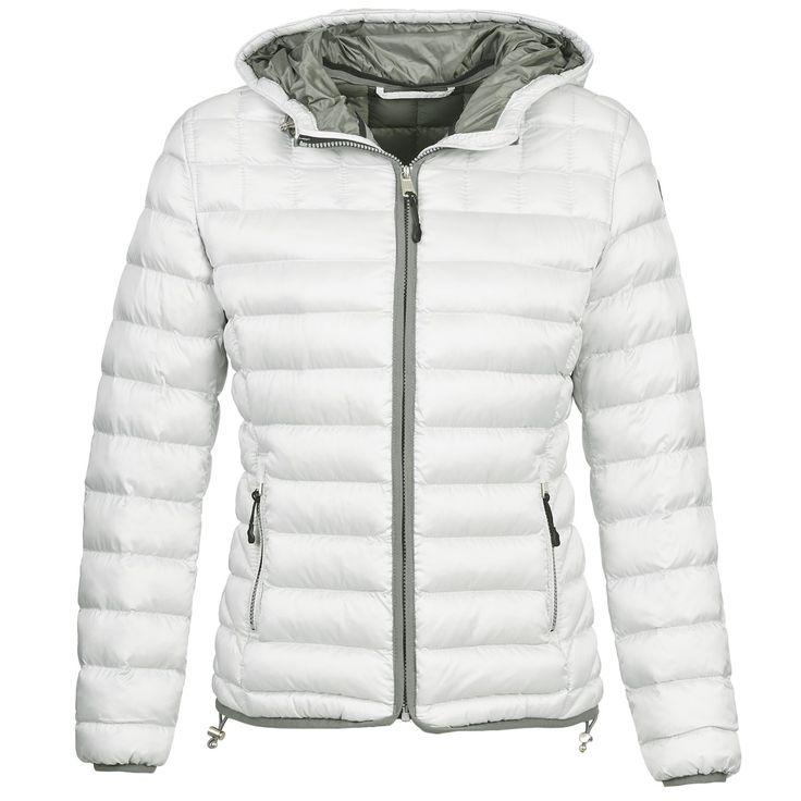 Doudoune Femme Spartoo, achat Doudoune Napapijri AERONS Blanc prix promo SPARTOO 199.00 €
