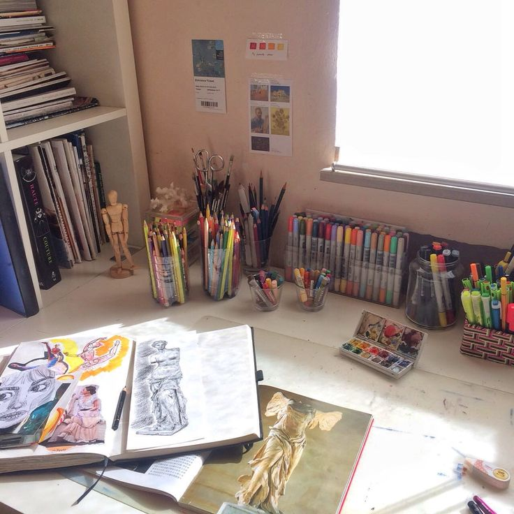 ohgabii:   my messy desk  - The Organised Student