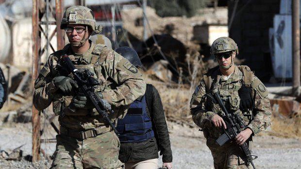 Amerikaanse soldaten in Syrië moeten partijen gefocust houden op IS