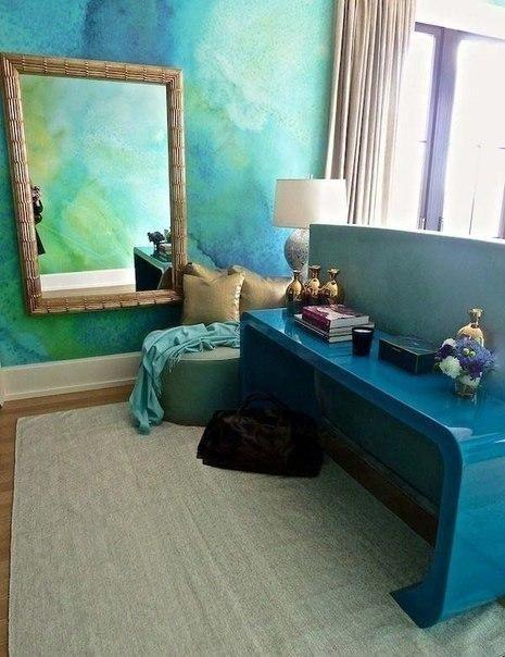 Акварельные стены - Дизайн интерьеров | Идеи вашего дома | Lodgers