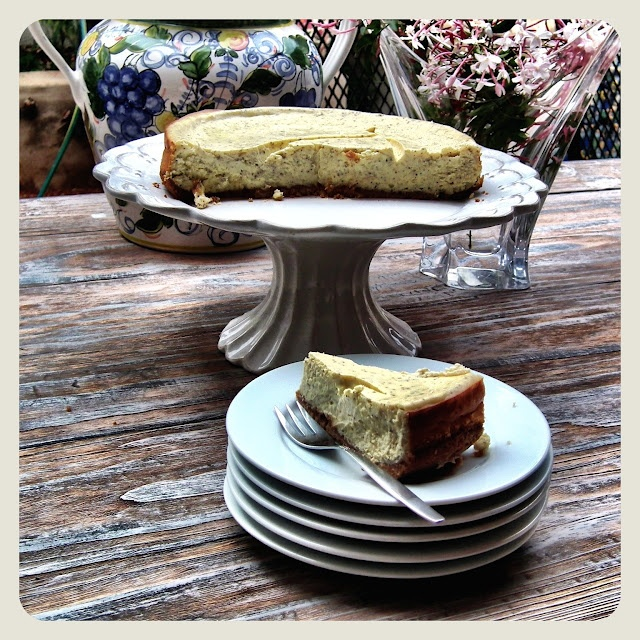 Frikkie Awesome: Earl Grey Cheesecake