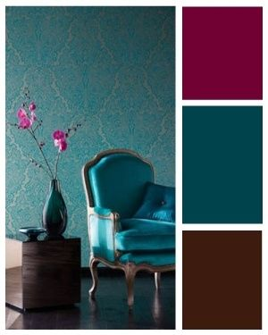 Teal And Brown With Maroon Accents Part 40
