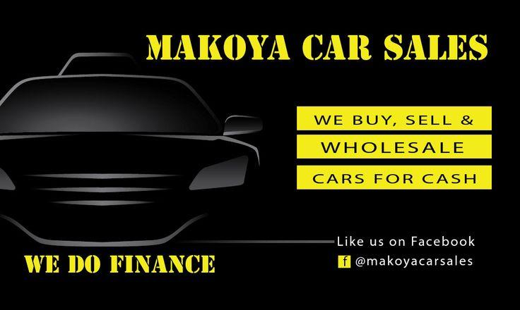 #BusinessCard #Design for Makeoya Car Sales
