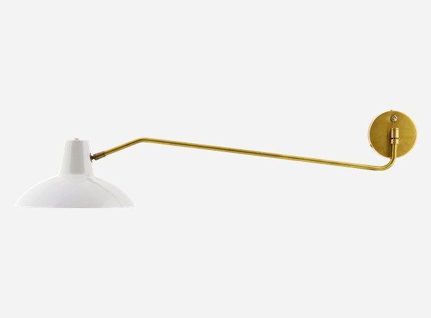 Cb0462 - Wall lamp, Desk, matt grey, dia.: 31 cm, l.: 104 cm, E27, max 40 watt, 2.5 m cable