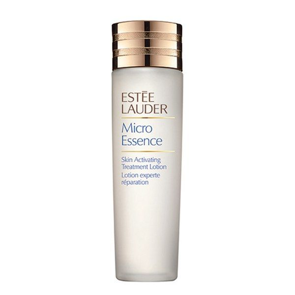 Brimming with moisturizers and peptides, Estée Lauder Micro Essence Skin Activating Treatment Lotion delivers the taut, polished feel of a toner without the stinging side effects.