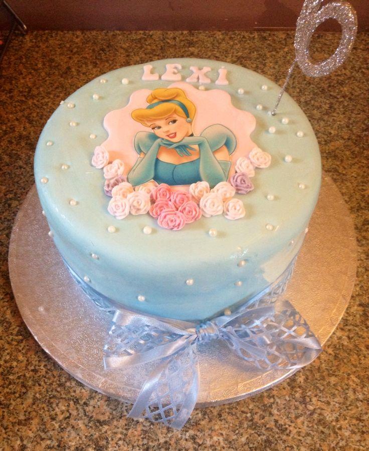 Cinderella birthday cake                                                       …